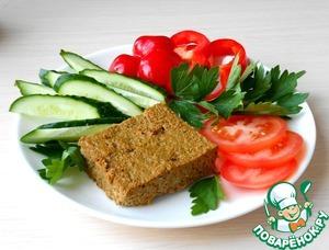 Рецепт Запеканка из печени с овощами