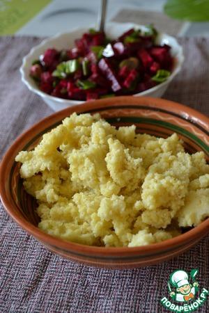 Рецепт Кабардинская паста из пшена