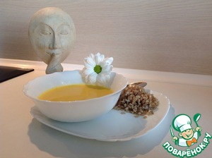 Рецепт Бархатистый суп с цукини