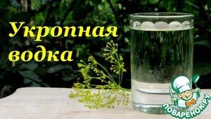 Как готовить Укропная водка домашний рецепт с фото пошагово