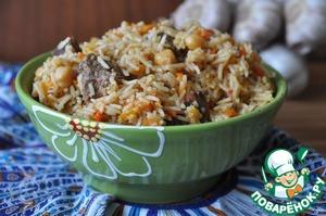 Рецепт Шавля с чесночным соусом
