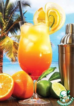 Рецепт Коктейль из апельсинового сока с Мартини