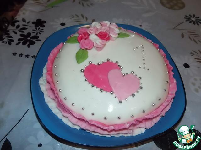 Бисквитное чудо торт рецепт с пошагово