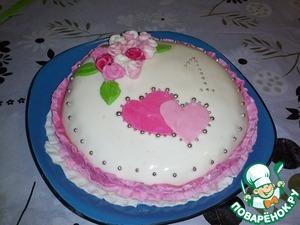 Как приготовить Бисквитный тортик