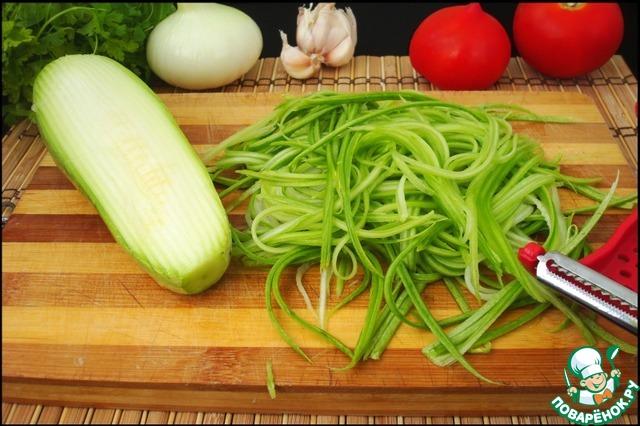 Паста из кабачков рецепт