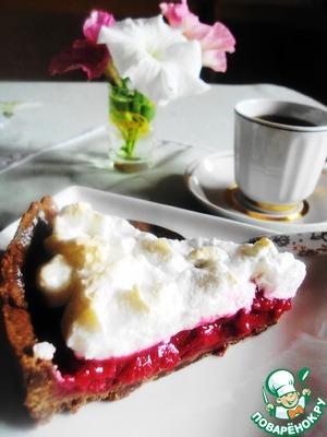 Рецепт Шоколадный тарт с вишней