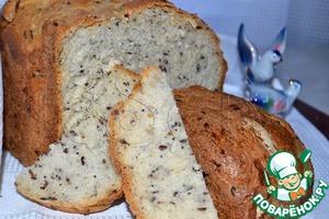 Рецепт Деревенский семенной хлеб