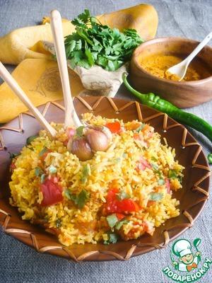 Рецепт Томатный плов по-индийски