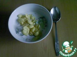 Рецепт Летний холодный суп из кефира