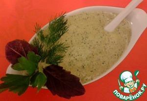 Рецепт Базиликовый соус к мясу