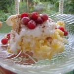 Диетический вариант торта с кукурузными хлопьями