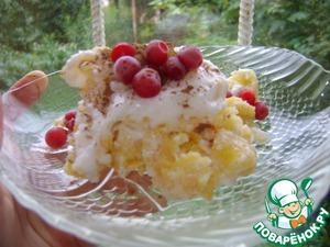 Рецепт Диетический вариант торта с кукурузными хлопьями