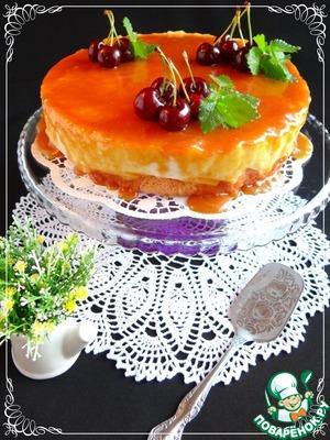 Рецепт Трехслойный рисовый торт