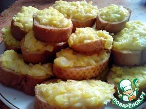 Рецепт Бутерброды луковые