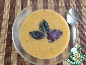 Рецепт Суп-пюре с базиликом и помидорами