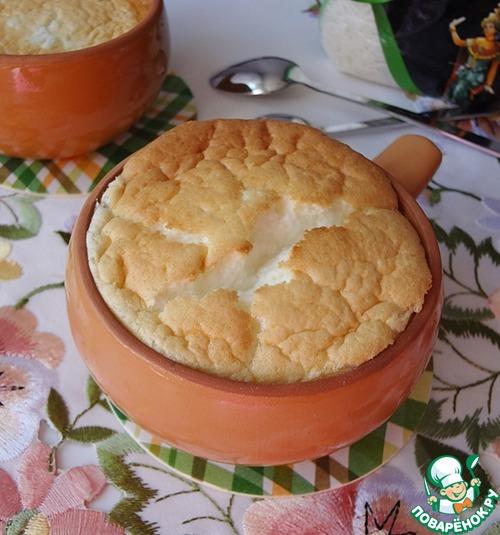 Рисовое суфле с изюмом