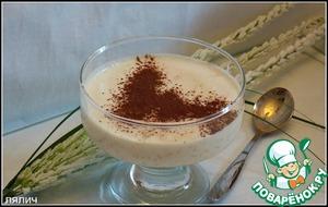 Рецепт Белоснежный рисовый крем
