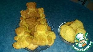 Рецепт Мягкое лимонное печенье на сыворотке
