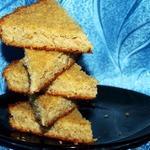 Сметанно-овсяный пирог