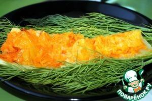 Рецепт Кабачок с морковью и апельсином