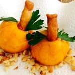 Сырная закуска с оливками Тыквочки