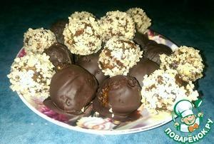 Рецепт Конфеты из сухофруктов и орехов в шоколаде