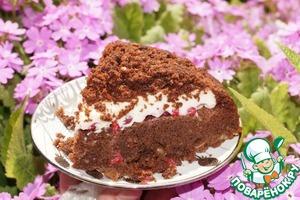 """Рецепт Шоколадно-ягодный пирог """"Приятная неожиданность"""""""