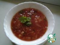 Томатный суп quot;50 ккалquot; ингредиенты