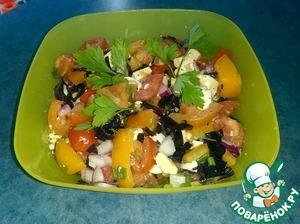 """Рецепт Овощной салат """"Яркое настроение"""""""
