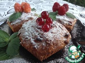 Рецепт Рисово-творожные кексы с яблоком