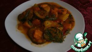 Как готовить Овощное рагу по-индийски пошаговый рецепт с фотографиями