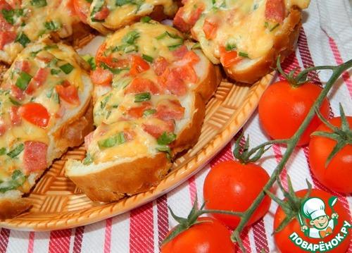 Горячие закуски и бутерброды рецепты
