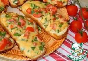 Горячие бутерброды домашний рецепт с фото как готовить