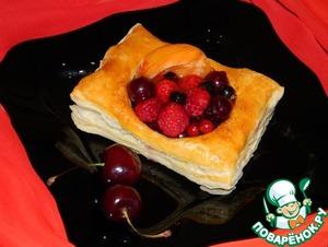 Рецепт Ягодные мини-тортики