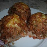 Тефтели с гречкой под томатным соусом с сюрпризом