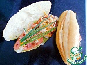 Рецепт Banh mi или Вьетбургер