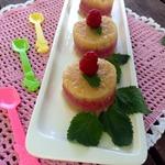 Трехцветный десерт