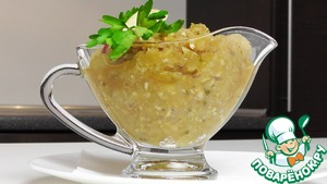 Рецепт Яблочная аджика по-латвийски