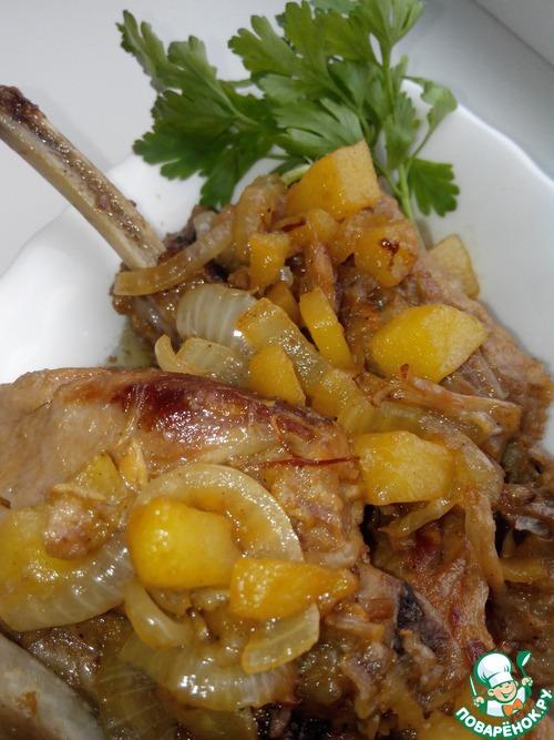 Вторые блюда из свиных ребрышек рецепты 172