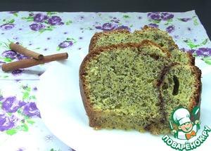 Рецепт Кекс с маком и корицей