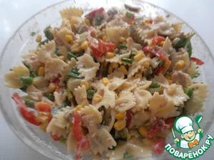 Рецепт Макаронный салат с тунцом