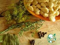 Маринованный пряный чеснок ингредиенты