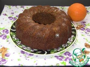 Рецепт Апельсиновый пирог с кукурузной мукой