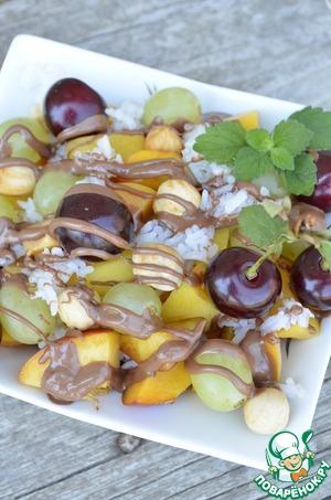Рецепт Салат фруктовый с рисом