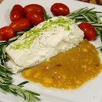 Палтус с цитрусовым соусом