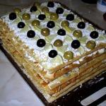 """Закусочный торт """"Наполеон"""""""