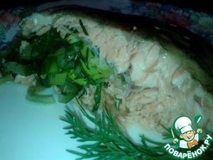 Рецепт приготовления с фото Форель запечённая с огурцами