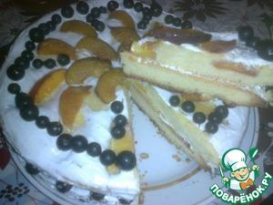 Рецепт Июльский тортик
