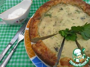 Рецепт Пирог-запеканка из кабачков в мультиварке