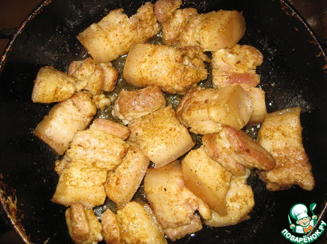свинина по мужски рецепт с фото
